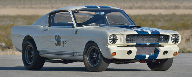Ar putea deveni cel mai scump MUSTANG din istorie. Prototipul legendarului Shelby GT350R va fi scos la vanzare