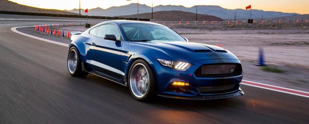 Ar putea fi cel mai extrem Mustang al momentului. Are 750 de cai si un V8 supraalimentat