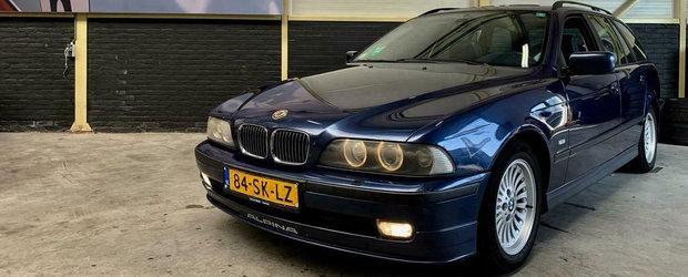 Ar putea fi cel mai rulat BMW modificat de Alpina. Cum arata acest Seria 5 E39 dupa ce...