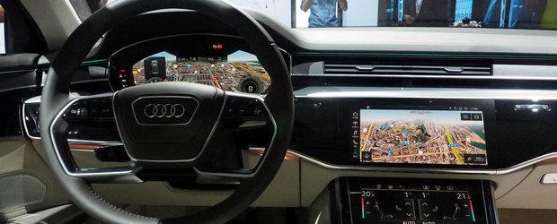 Ar putea fi noul rege al limuzinelor. POZE de la Frankfurt cu noul Audi A8
