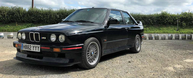 Ar putea fi un nou record. Cati kilometri a parcurs acest BMW M3 cu motor de 2.5 din fabrica