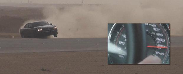 Arabii au viata scurta: drifturi la 220 km/h pe drumuri publice