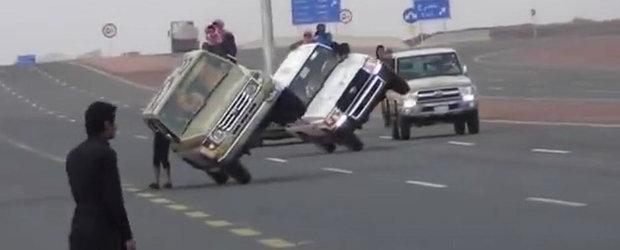 Arabii revin in forta, cu noi cascadorii pe 2 roti si 2 picioare