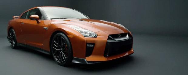 Arata aproape la fel ca vechiul model, insa noul GT-R aduce numeroase imbunatatiri. Nissan ni le spune pe toate