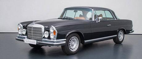 Arata ca scos din cutie. Motivul pentru care acest Mercedes-Benz W111 din 1970 costa 400.000 de euro