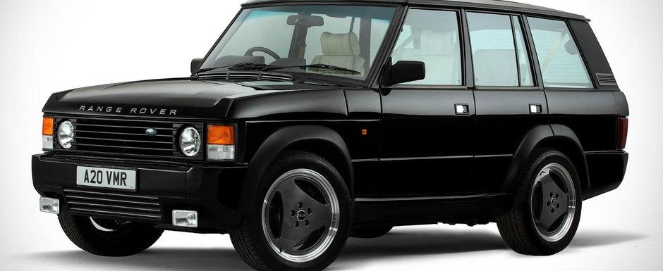 Arata ca un Range Rover de ultima generatie, insa numai caroseria este originala. Nici macar motorul nu-i apartine