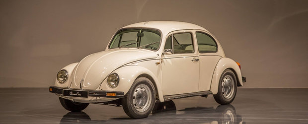 Arata ca un Volkswagen Beetle obisnuit, dar ascunde un mare secret. Masina din '78 este de vanzare