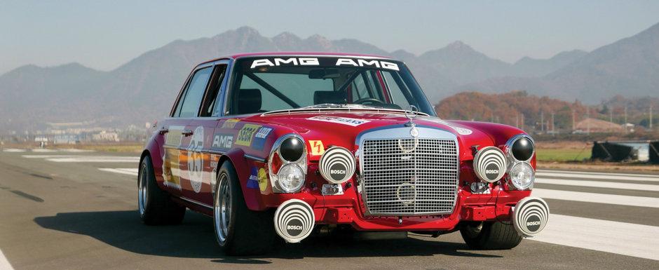 Arata ca unul dintre cele mai emblematice AMG-uri din istorie. Mercedes-ul din '69 este acum de vanzare