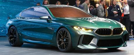 Arata de o suta de ori mai bine in realitate. Noul M8 Gran Coupe este fara indoiala conceptul momentului