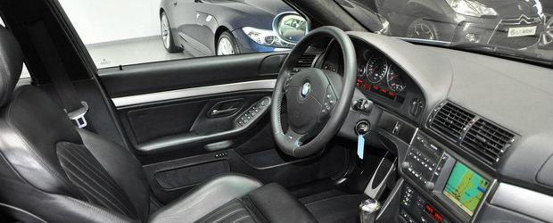 Arata de parca ieri ar fi iesit de pe linia de productie. Cu cat se vinde acest superb BMW M5 E39