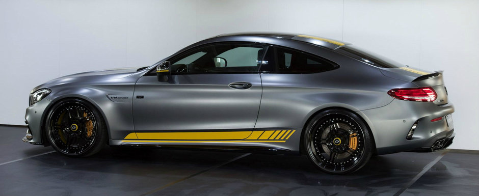 Arata exact ca modelul standard, insa este cu vreo 50% mai puternic. Secretul de sub capota acestui Mercedes