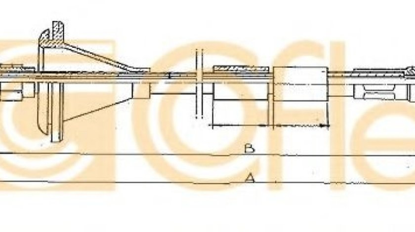 Arbore tahometru PEUGEOT BOXER platou / sasiu (ZCT) (1994 - 2002) COFLE S07126 - produs NOU