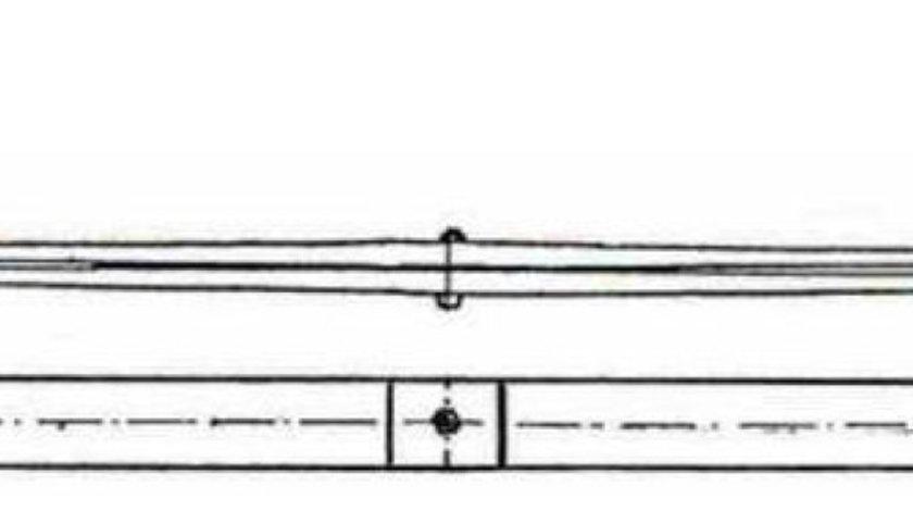 Arc parabolic din 2 foi punte fata Man L2000 SCHOMACKER 81.43402-6050