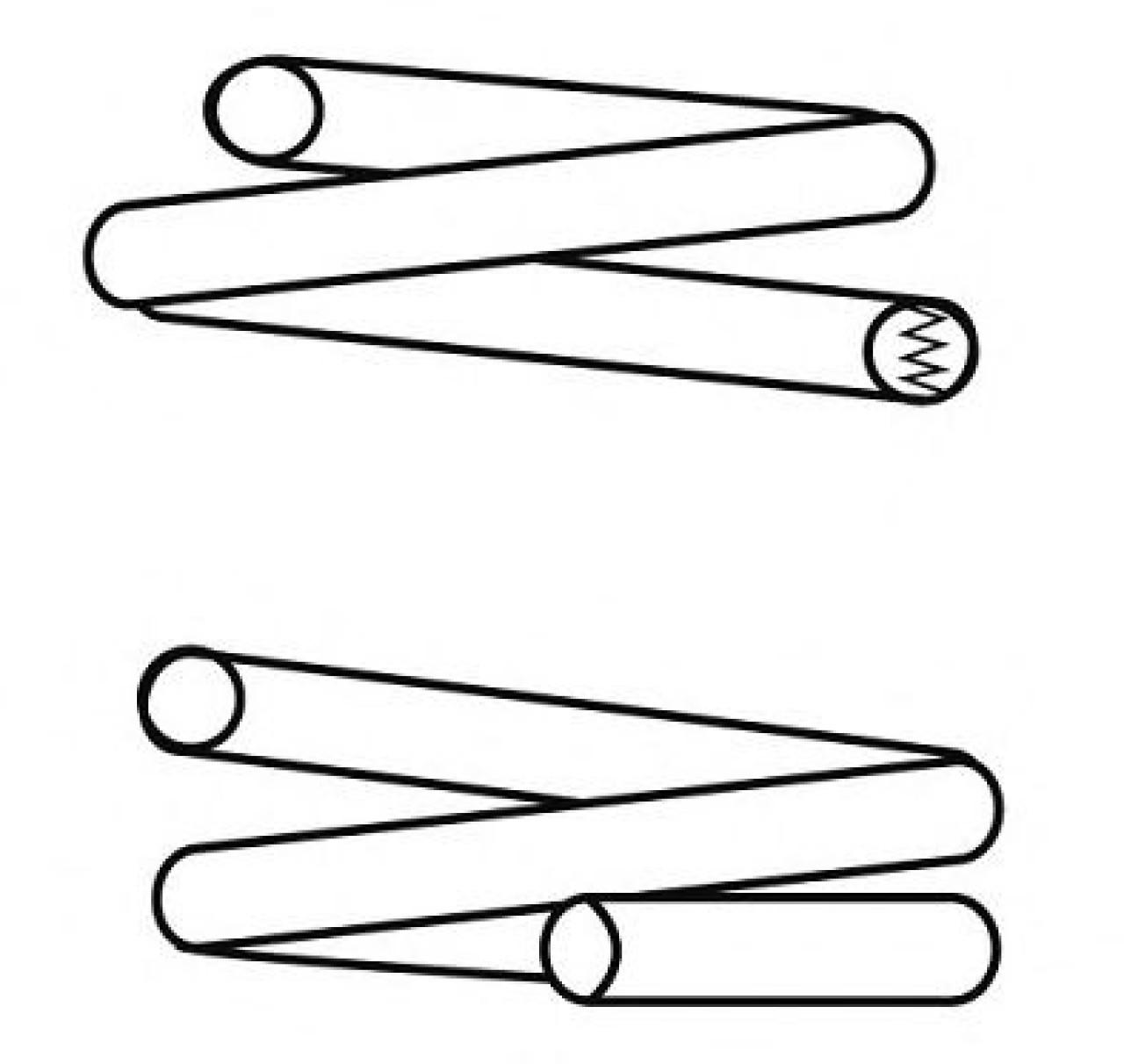 Arc spiral OPEL TIGRA (95) (1994 - 2000) CS Germany 14.774.269 - produs NOU