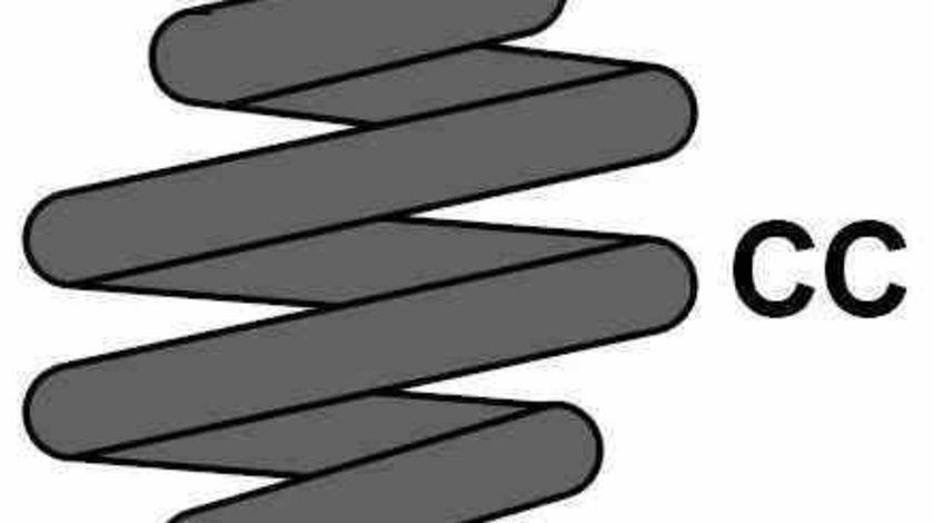 Arc suspensie spiral FORD S-MAX WA6 DIEDERICHS 9985190
