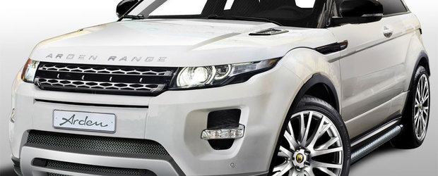 Arden modifica noul si apetisantul Range Rover Evoque