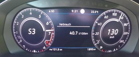 Are 280 CP si 4x4. Test de acceleratie cu cea mai sportiva versiune a noului Volkswagen Arteon