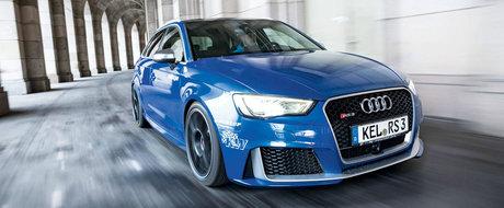 Are 520 CP si face suta doar in 3.3 secunde. Tuningul pe care si-l doreste orice posesor de Audi RS3
