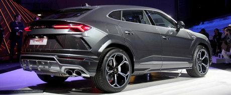 Are 650 de CAI sub capota si face suta in doar 3,6 secunde. POZE REALE cu noul SUV de la Lamborghini
