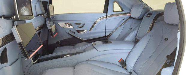 Are 900 CP sub capota, insa interiorul e cel care te va da pe spate. GALERIE FOTO cu noua super-limuzina de la Brabus