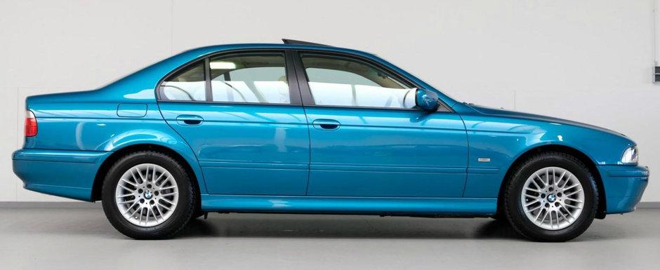 Are aproape toate dotarile din fabrica, plus cateva optiuni Individual. Cu cat se vinde acest superb BMW E39