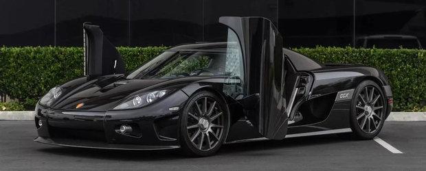 Are cele mai interesante usi din industria auto. Pentru cat se vinde acum acest Koenigsegg CCX
