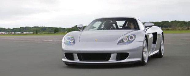 Are cutie manuala si un sunet care iti face parul maciuca. Porsche-ul Carrera GT ramane la fel de tare si in ziua de azi
