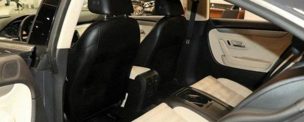 Are motor de 200 CP, piele si scaune individuale, dar se vinde la pret de Dacie la mana a doua