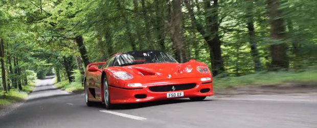 Are motor de Formula 1, iar asta il face cel mai nebun Ferrari construit vreodata. Legendarul F50 explicat din bara in bara