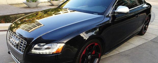 Are motor V8 si cutie manuala, insa costa cat o Dacie Logan. Uite cu cat se vinde acest Audi S5 Coupe