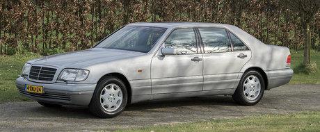 Are numai 50.000 km la bord si arata ca nou. Cu cat se vinde acest superb Mercedes W140