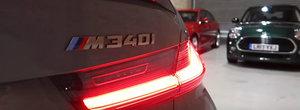 Are o masina unica in lume. El si-a comandat un BMW Seria 3 de ultima generatie in culoare...de Audi