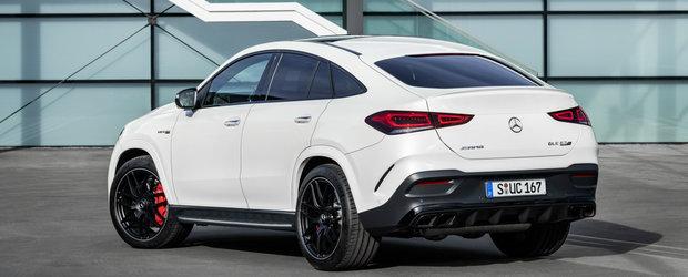 Are pana la 612 CP si vine sa fure din clientii de BMW X6 M. Acesta este noul Mercedes-AMG GLE 63 Coupe