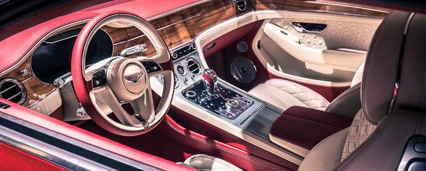Are peste 10 metri patrati de lemn in interior. Perla britanicilor de la Bentley a atras toate privirile la Frankfurt