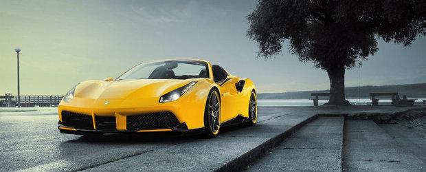 Are peste 750 de cai si face suta in 2.8 secunde. Ce poti sa ceri mai mult de la Ferrari-ul 488 Spider?