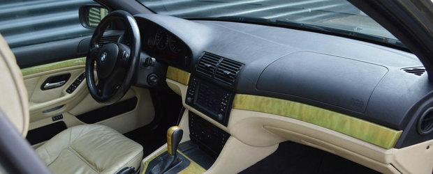 Are toate dotarile din fabrica, plus cateva optiuni Individual. Cu cat se vinde acest exclusivist BMW E39