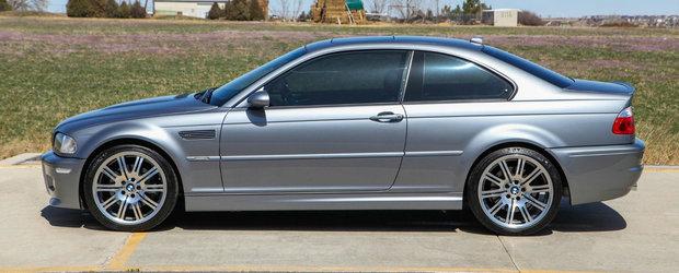 Are tot ce ti-ai putea dori, inclusiv o cutie manuala cu sase viteze. Cat costa acest BMW M3 E46