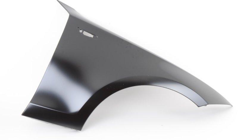 Aripa fata Bmw Seria 3 (E90/E91), 11.04-06.2012, partea Stanga, cu gaura pentru semnalizare, 41357133228, 204001 Kft Auto