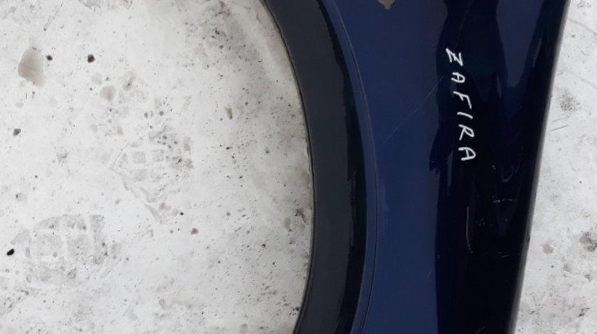 Aripa fata dreapta Opel Zafira bluemarin cu ornament