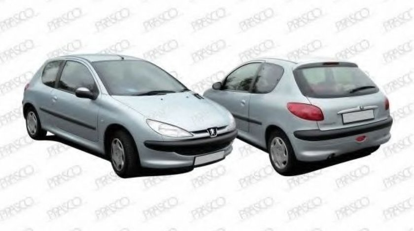 Aripa interior PEUGEOT 206 Hatchback (2A/C) (1998 - 2016) PRASCO PG0093604 piesa NOUA