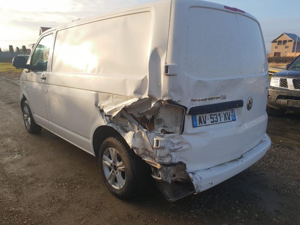 Armatura bara fata Volkswagen T5 2012 facelift CAA 2.0 tdi