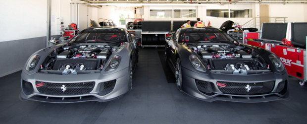 Arta pura: Cu ochii sub capota impresionantului Ferrari 599XX!