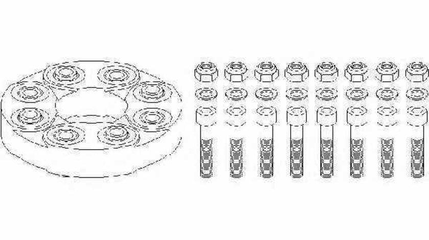 Articulatie cardan MERCEDES-BENZ S-CLASS cupe C140 TOPRAN 400 614