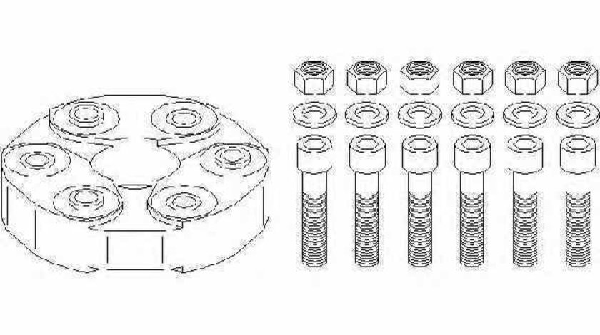 Articulatie cardan MERCEDES-BENZ S-CLASS W221 TOPRAN 400 250