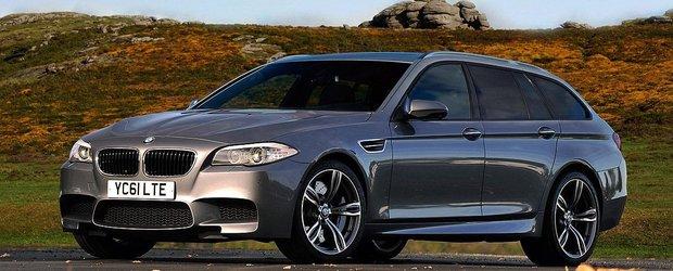 Asa ar putea arata noul BMW M5 Touring. Asta in cazul in care va deveni realitate