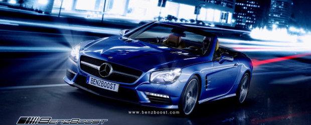 Asa ar putea arata viitorul Mercedes SL63 AMG!