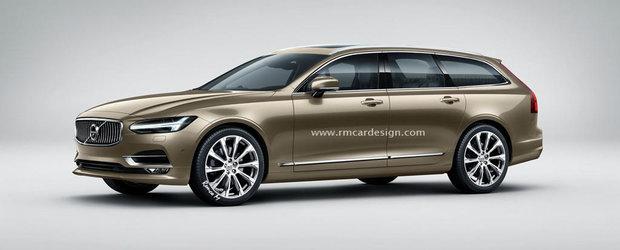 ASA ar putea arata viitorul Volvo V90