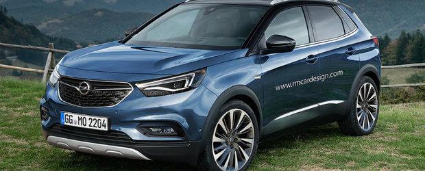 Asa ar putea sa arate viitorul Opel Grandland X