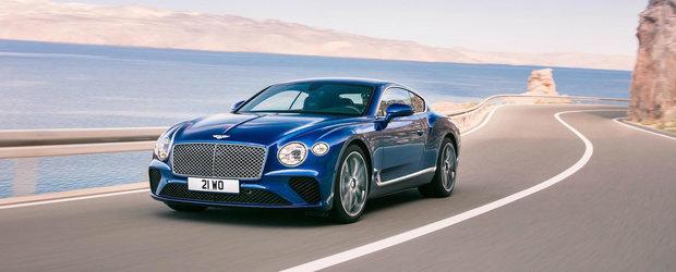 Asa arata 2 tone de sportivitate si eleganta. Fa cunostinta cu noul Bentley Continental GT