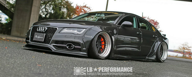 Asa arata Audi-ul A7 perfect in viziunea japonezilor de la Liberty Walk